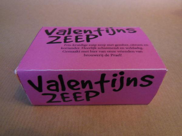 Valentijns zeep zuip